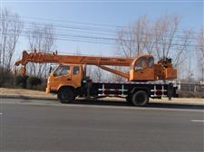 沃尔华GNQY-898型12吨吊车
