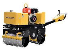 0.90吨沃尔华手扶式沟槽压实机