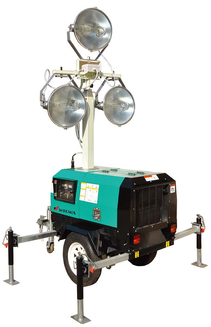 gnzm41c手动升降拖车式照明灯图片