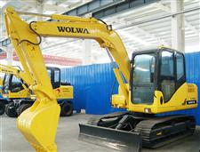 DLS100-9B 10吨履带式液压挖掘机