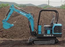 DLS818-9农用履带式挖掘机