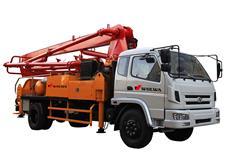 GNBC5型小型混凝土臂架泵车