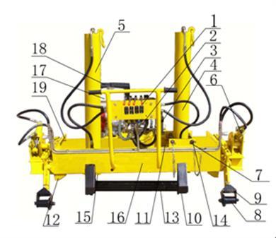 YQBJ-300×200型液压起拨道机