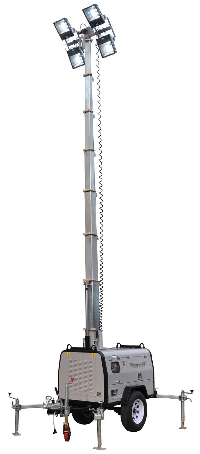 gnzm61c液压升降拖车式照明车
